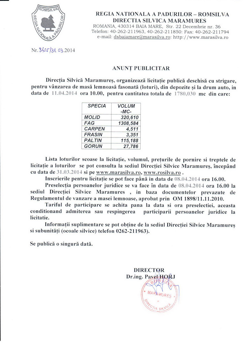 anunt-licitatie-01-04-2014