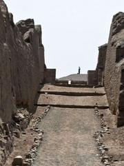 PERU-ARCHAEOLOGY-PACHACAMAC-PILGRIMS ROUTE