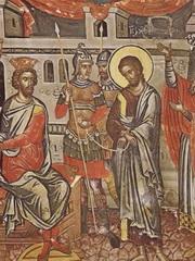 iisus-tace-in-fata-lui-Pilat